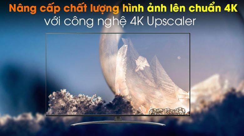 tivi LG 65NANO86 nâng cấp chất lượng hình ảnh lên chuẩn 4K với công nghệ 4K Upscaler