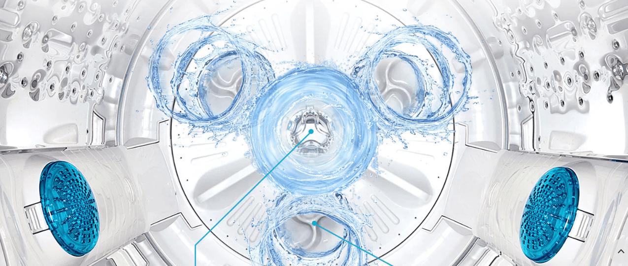 Đấm nước Punch+3 ứng dụng trên Máy giặt LG