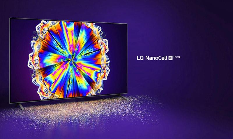 49NANO86 cho màu sắc thuần khiết với LG Nano Cell Al ThinQ