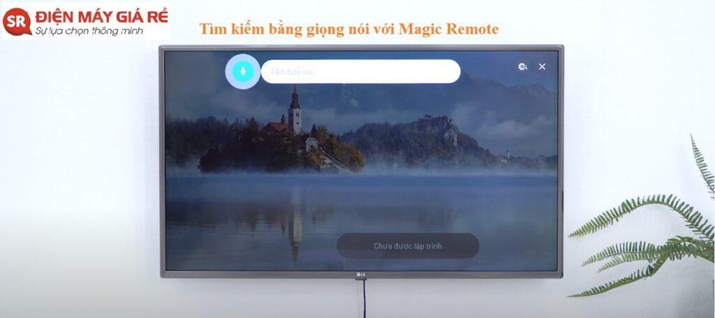 tìm kiếm bằng giọng nói với Magic Remote