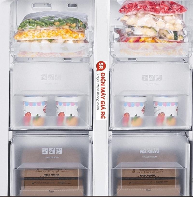 ngăn Express Freezing cấp đông nhanh thực phẩm