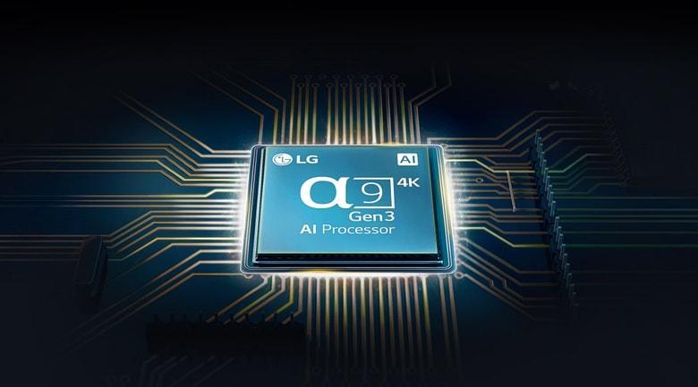 55CX trang bị chip xử lý hình ảnh anpha 9 cho độ load hình cực nhanh