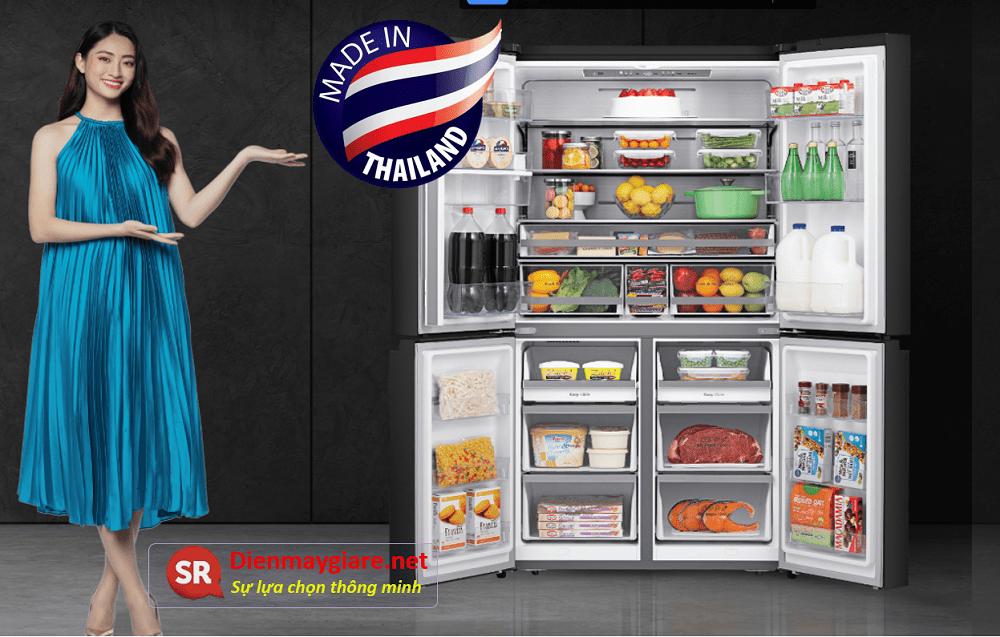 tủ lạnh casper của Thái Lan
