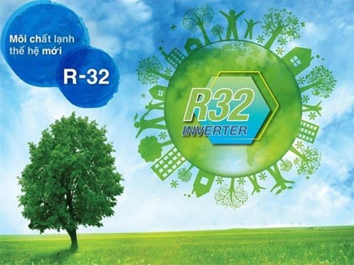 i-DR24LKH sử dụng gas R32 thân thiện với môi trường