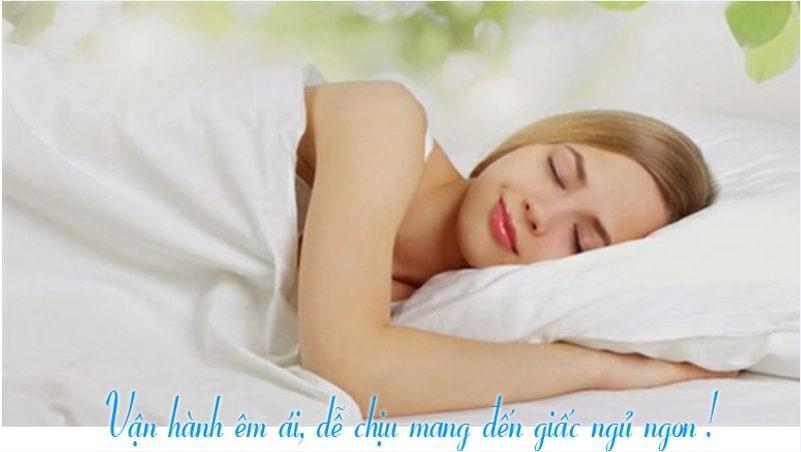 i-DR24LKH vận hành êm ái, dễ chịu mang đến giấc ngủ ngon