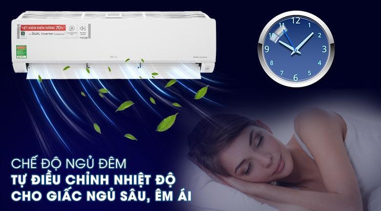 Sở hữu chế độ hẹn giờ tắt bật vô cùng hữu ích khi sử dụng vào ban đêm