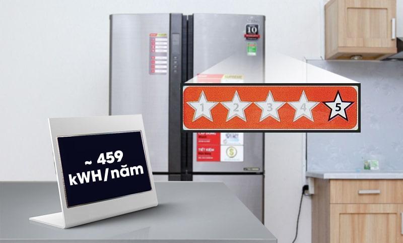tem năng lượng chuẩn 5 sao cho tiết kiệm điện hiệu quả
