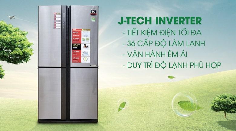 công nghệ J-tech inverter cho tiết kiệm điện tối đa