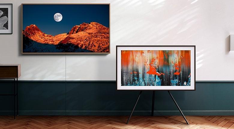 Tivi Samsung QA55LS03A vừa là chiếc tivi vừa là những bức tranh tuyệt đẹp