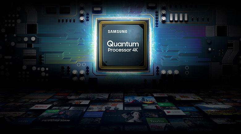 Tivi Samsung QA50LS03A được trang bị bộ xử lý Quantum 4K rất mạnh mẽ
