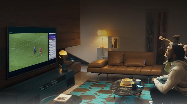 Tính năng Multi View mới giúp bạn xem 2 nội dung đồng thời trên 1 chiếc tivi