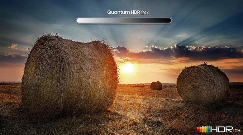 Tivi Samsung QA 55QN85A sẽ giúp tăng độ tương phản và khả năng hiển thị màu nhờ công nghệ Quantum HDR 24x