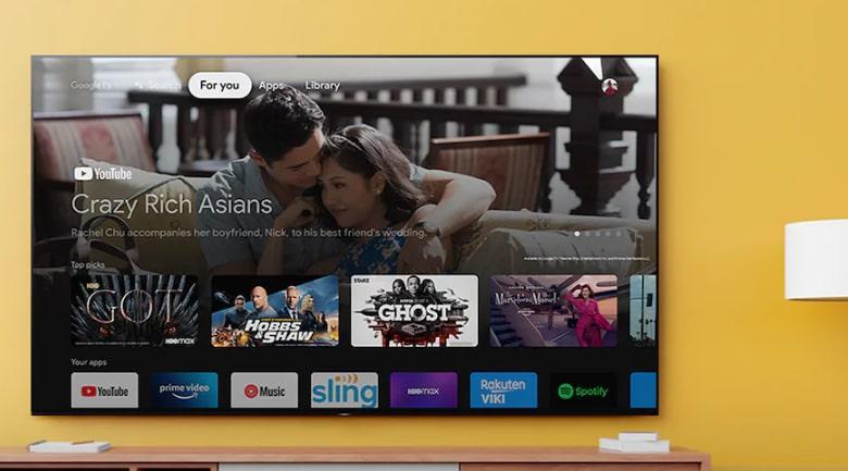 Tivi Sony Oled XR65A90J cho bạn kho giải trí đa dạng và hệ điều hành Android 10 thông minh