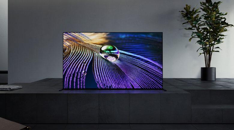 Tivi Sony XR-65A90J mang đến gia chủ của nó mẫu thiết kế One Slate với màn hình tràn viền liền mạch tinh tế