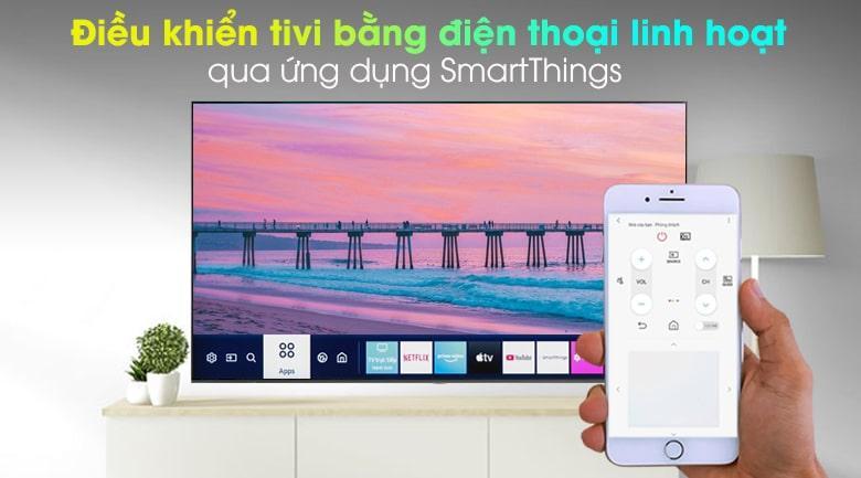 Ứng dụng SmartThings giúp bạn có thể dùng điện thoại điều khiển tivi dễ dàng
