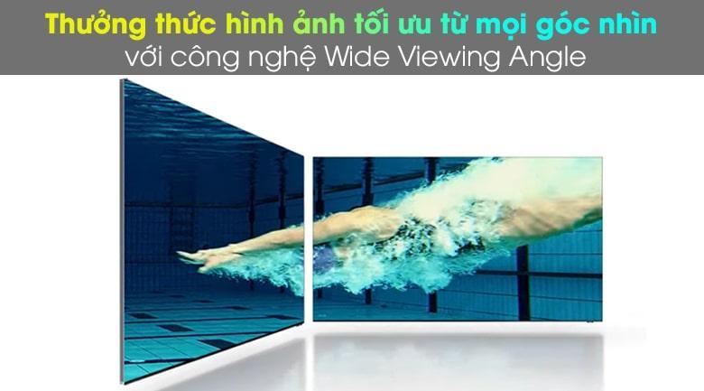 Công nghệ Wide Viewing Angle trênTivi QA 75QN900A cho hình ảnh đẹp ở mọi góc nhìn