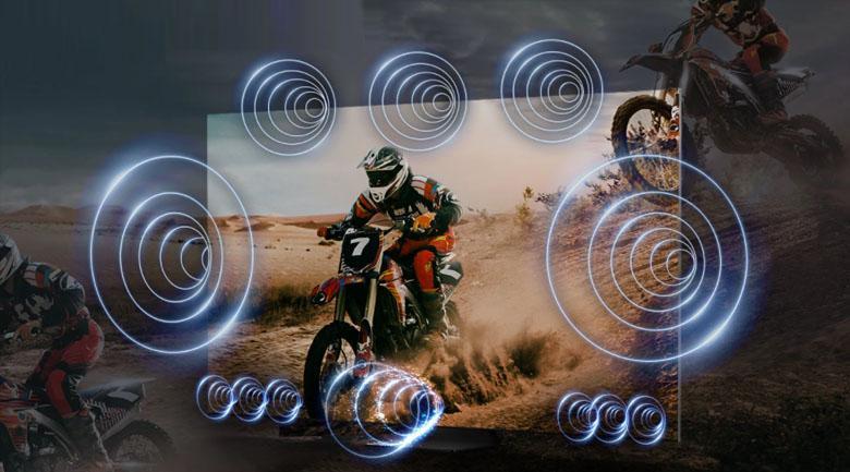 Tivi Samsung QA85QN900A cho trải nghiệm âm thanh chuyển động theo hình ảnh chân thực nhất
