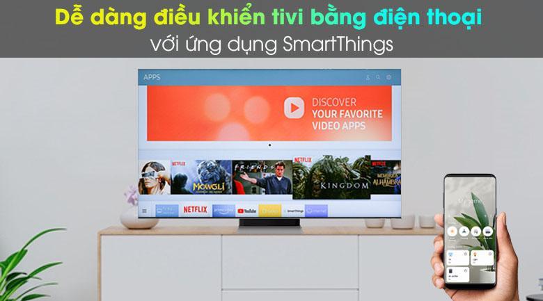 Bạn dễ dàng điều khiển tivi bằng cả chiếc điện thoại Smart phone của mình
