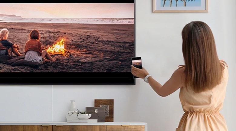 Tap Viewđược trang bị trên tivi Samsung
