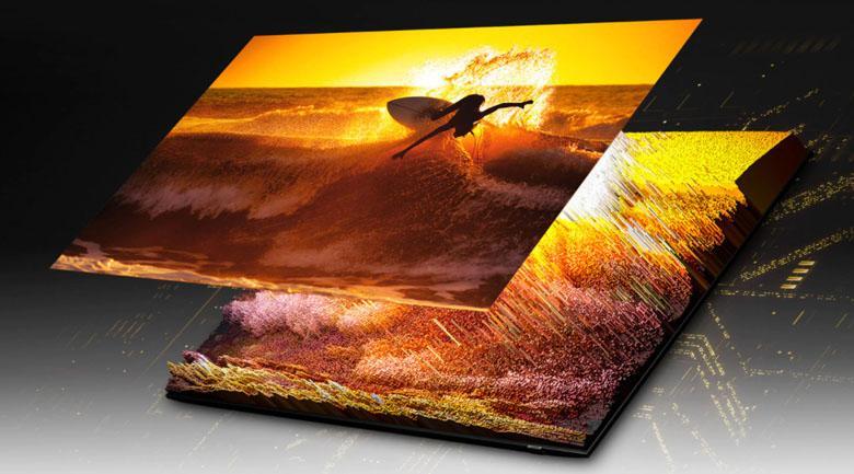 Tivi Samsung QA50QN90A được trang bị công nghệ đèn nền Micro Full Array, Quantum Matrix Technology