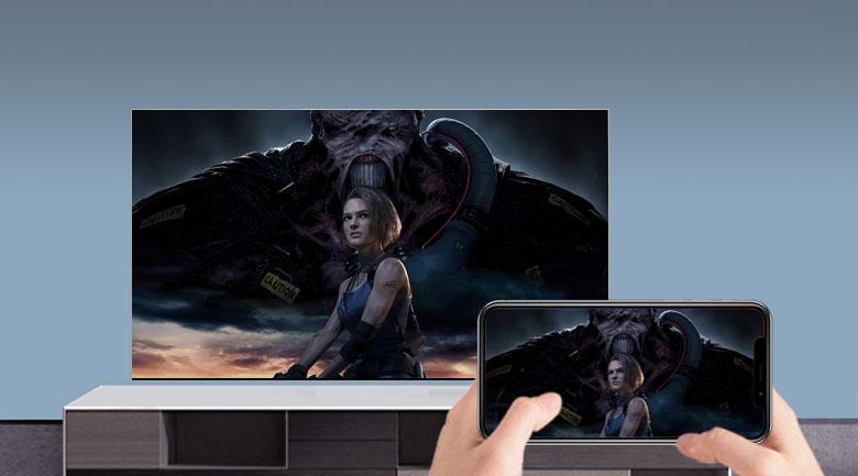 Khả năng chiếu màn hình điện thoại lên tivi đơn giản