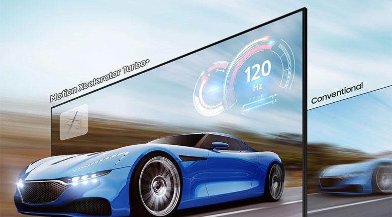 Tivi Samsung QA 65Q70A vớicông nghệ Motion Xcelerator Turbo+ chơi game mượt mà hơn hẳn
