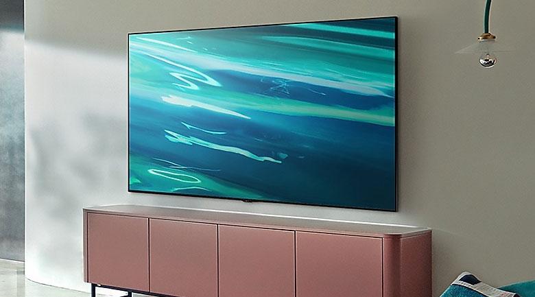 Tivi Samsung QA 65Q80A mang đến thiết kế viền 4 cạnh sang trọng nhất hiện nay