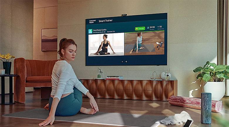 Tính năng Multi View có thể chiếu nhiều chương trình trên 1 màn hình