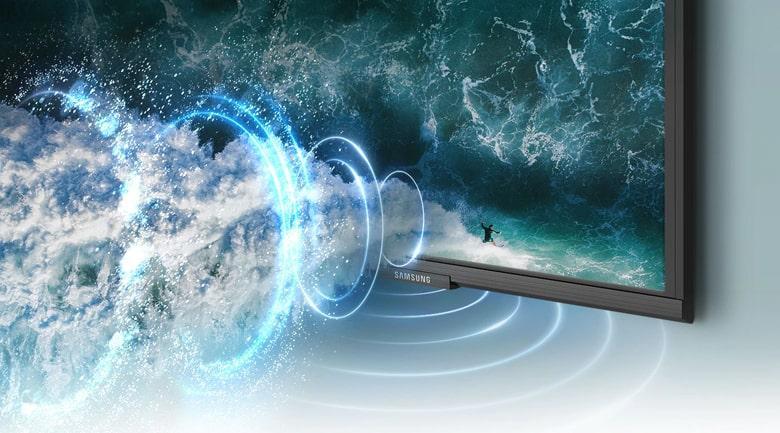 43AU9000 vớicông nghệ Object Tracking Sound Lite (OTS Lite) cho âm thanh sống động, cuốn hút