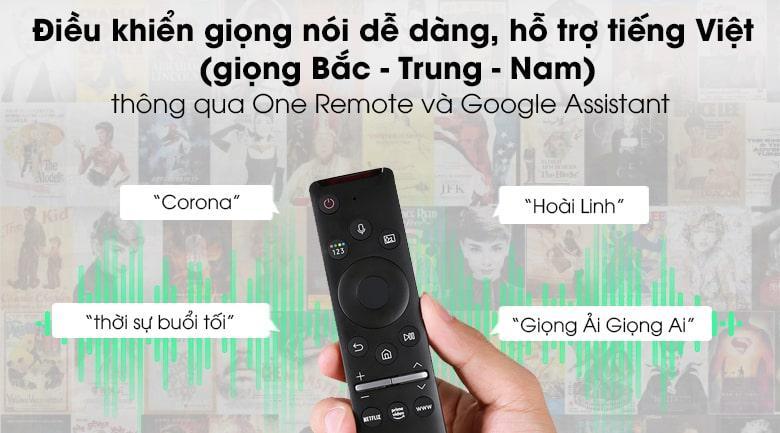 Bộ đôi One Remote và Google Assistant giúp bạn sử dụng giọng nói để điều khiển bằng tiếng Việt
