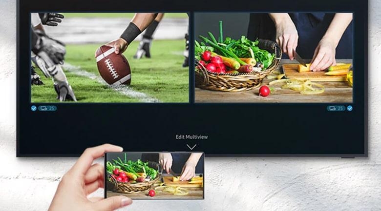 Tính năng mới MultiView giúp bạn thưởng thức nhiều chương trình bằng 1 màn hình duy nhất