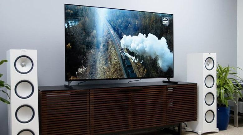 Tivi Sony Oled XR-55A90J mang đến Thiết kế One Slate hoàn toàn mới với màn hình tràn viền liền mạch tinh tế