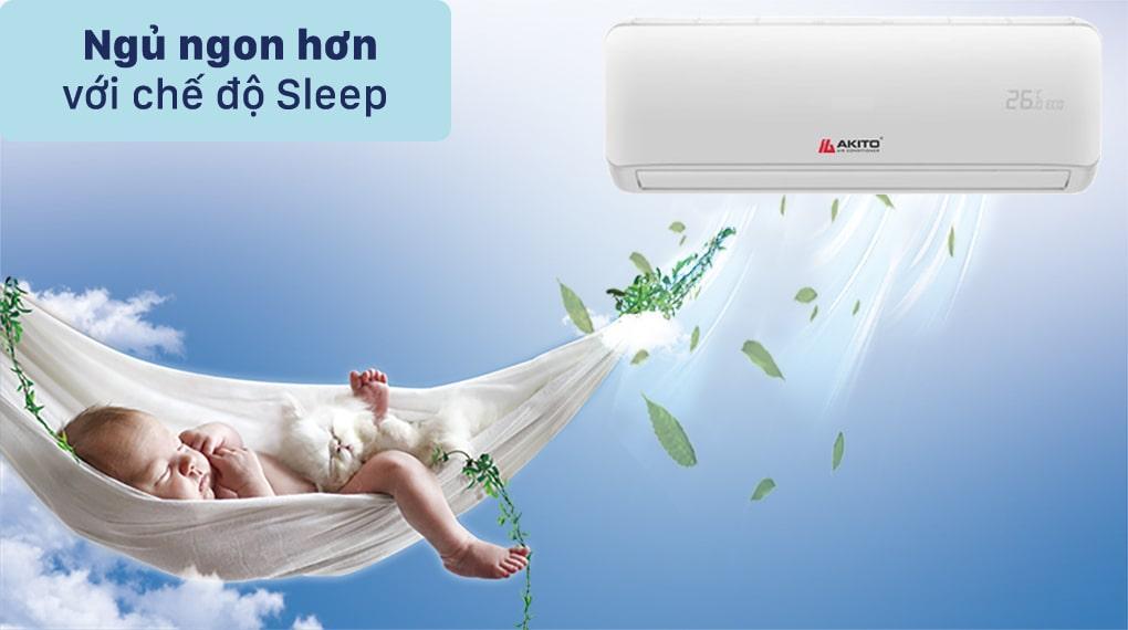 AKS-C12OC ngủ ngon hơn với chế độ Sleep
