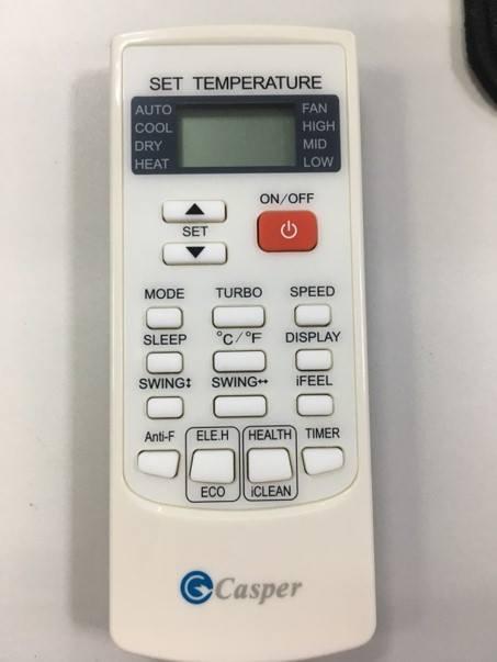 SC-12FS32 thiết kế điều khiển siêu nhỏ gọn và tiện lợi
