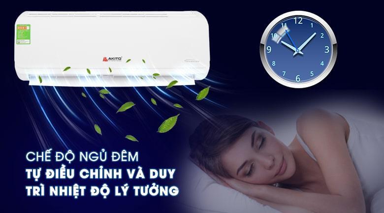 AIC-12ST chế độ ngủ đêm tự điều chỉnh và duy trì nhiệt độ lý tưởng