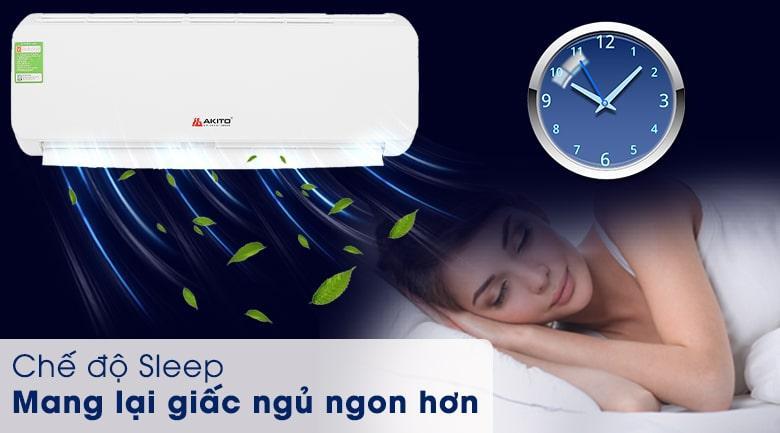 AKS-C9OC chế độ sleep mang lại giấc ngủ ngon hơn