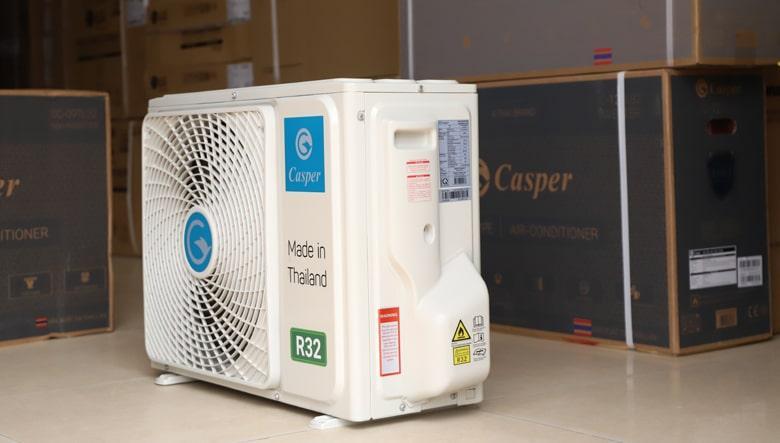 SC-12TL32 sử dụng gas R32 thân thiện với môi trường