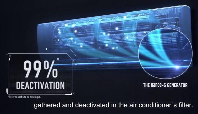YZ12WKH-8 diệt khuẩn đến 99%