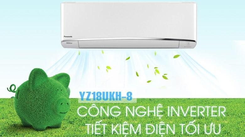 YZ18UKH-8 công nghệ inverter tiết kiệm điện tối ưu