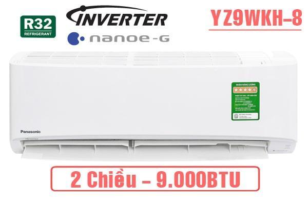 YZ9WKH-8 điểu hòa 9000BTU 2 chiều inverter