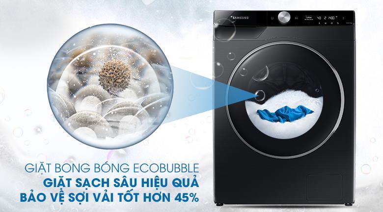 Mang đến công nghệ giặt bong bóng siêu mịn EcoBubble bảo vệ vải tốt hơn 45%