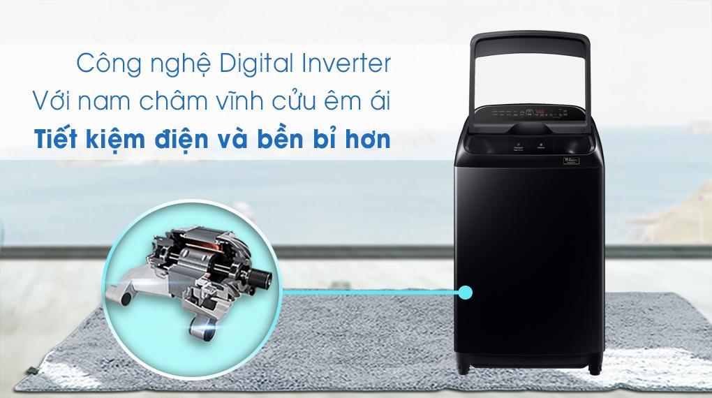 Ứng dụng công nghệ Inverter giúp vận hành êm ái, tăng độ bền, tiết kiệm điện tối đa
