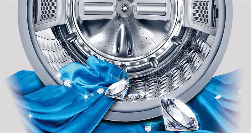 WW90K54E0UX thiết kế lồng giặt kim cương