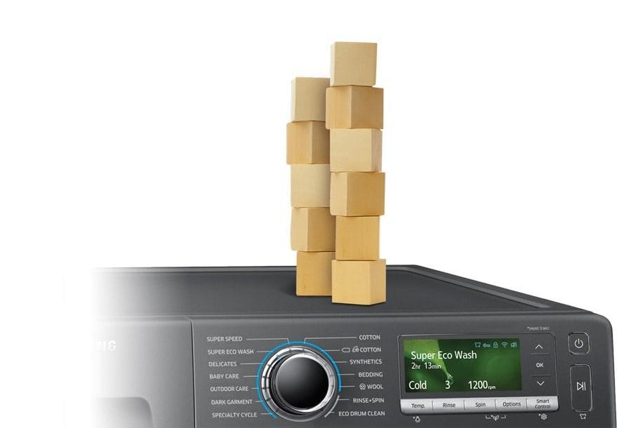 WW90K54E0UX giảm ồn chống rung hiệu quả