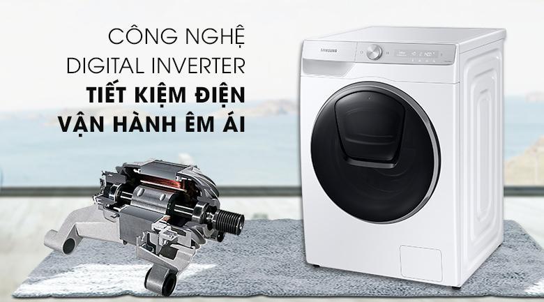 Động cơ Digital Inverter hiện đại của Máy giặt Samsung WW90TP54DSH/SV giúp tiết kiệm điện năng và hoạt động bền bỉ