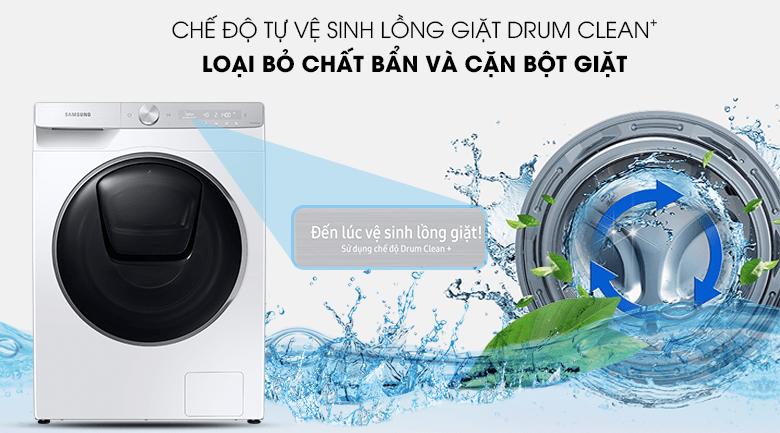 Tính năng Drum Clean+ của Máy giặt Samsung WW90TP54DSH/SV giữ cho lồng giặt sạch sẽ hơn