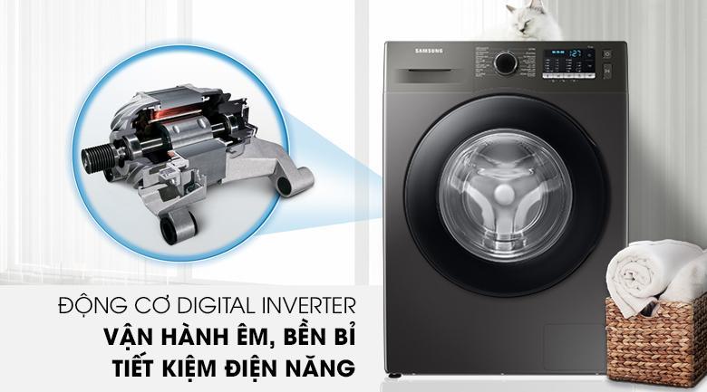 Là mẫu máy giặt Inverter nên tiết kiệm điện năng cao và vận hành êm ái, bền bỉ