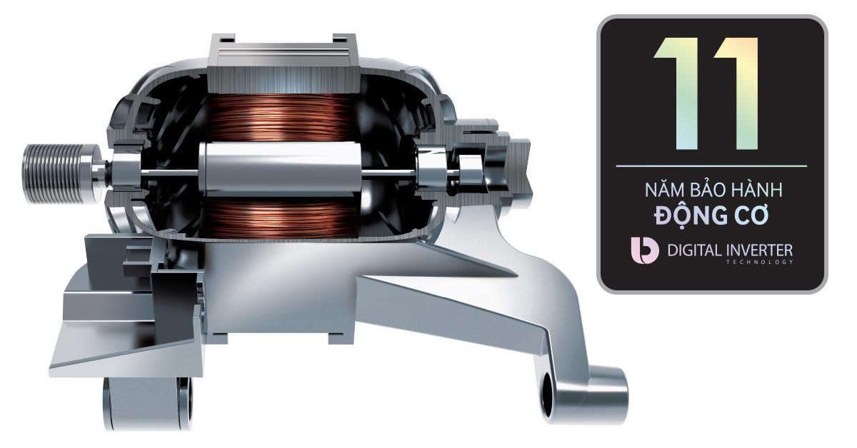 DV90TA240AX động cơ digital inverter tiết kiệm điện hiệu quả
