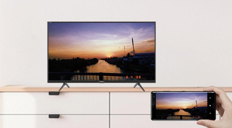 32HG5200 chiếu màn hình điện thoại lên tivi