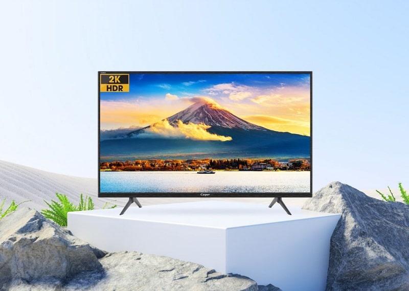 32HG5200 hiển thị hình ảnh chân thực với độ phân giải HD và chế độ HDR